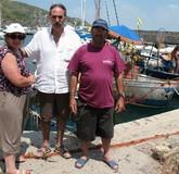 pappo pescatore e moglie