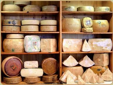 carta dei formaggi